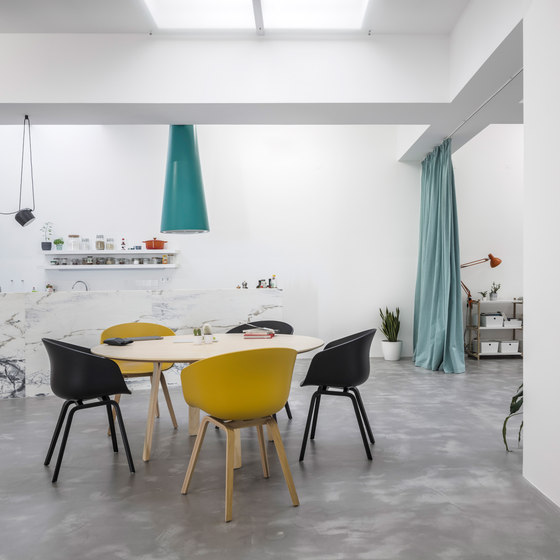 Garage House By Fala Atelier Living Space