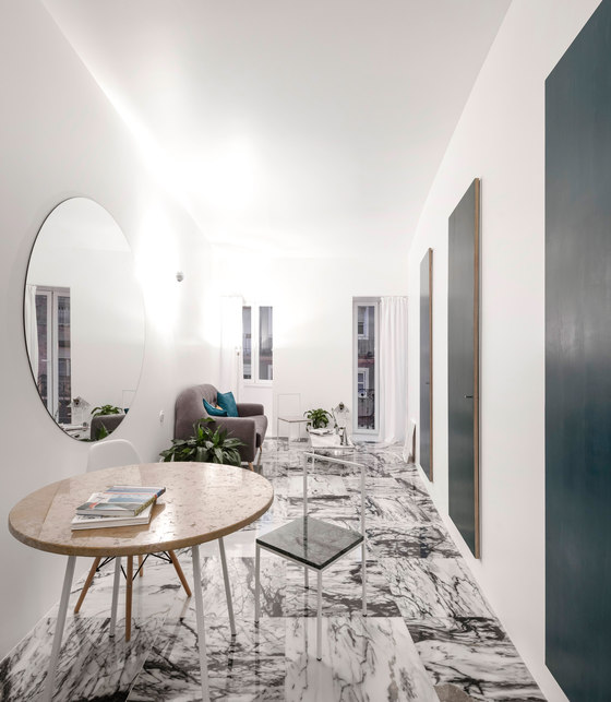 Graca Apartment By Fala Atelier Living Space