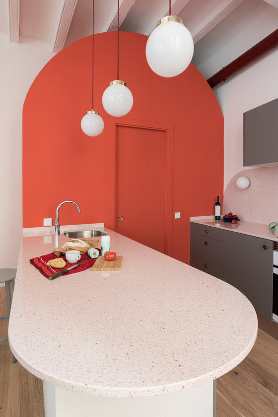 Apartment in Born by CaSA - Colombo and Serboli Architecture | Living space