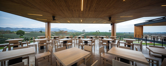 Choui Fong Tea Cafe by IDIN ARCHITECTS   Restaurants