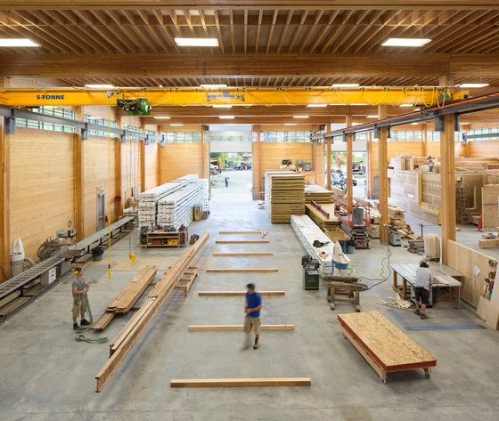 BC Passive House Factory By Hemsworth Architecture | Industrial Buildings