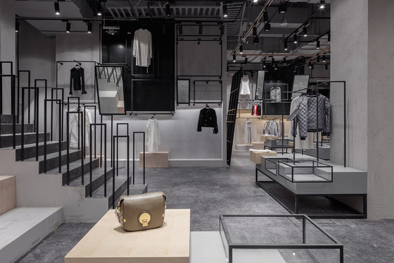 JOOOS Fitting Room by Li Xiang | Shop interiors