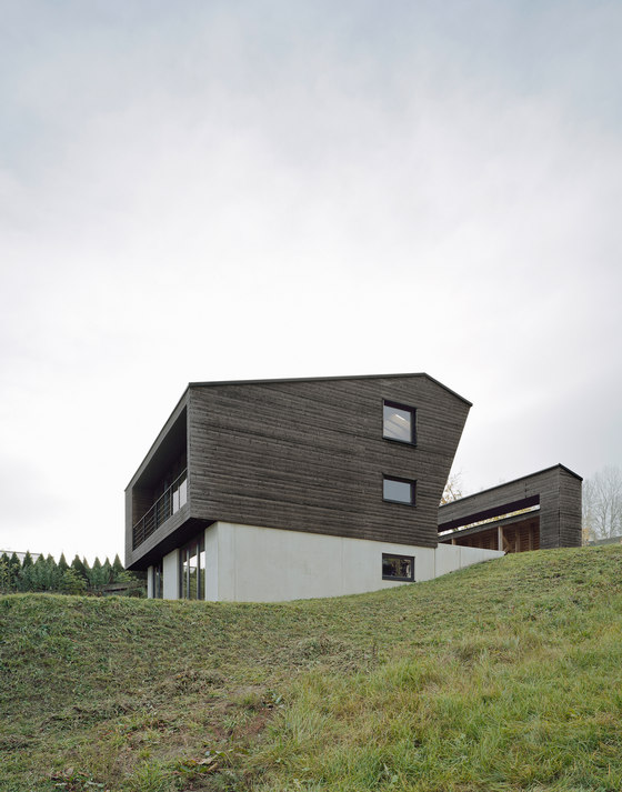 house p by yonder architektur und design detached houses. Black Bedroom Furniture Sets. Home Design Ideas