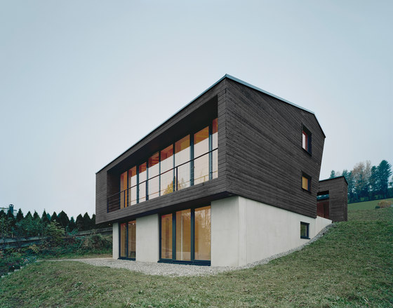 Haus p von yonder architektur und design einfamilienh user for Design architektur