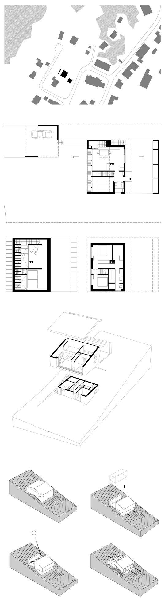 Haus p von yonder architektur und design einfamilienh user for Architektur und design
