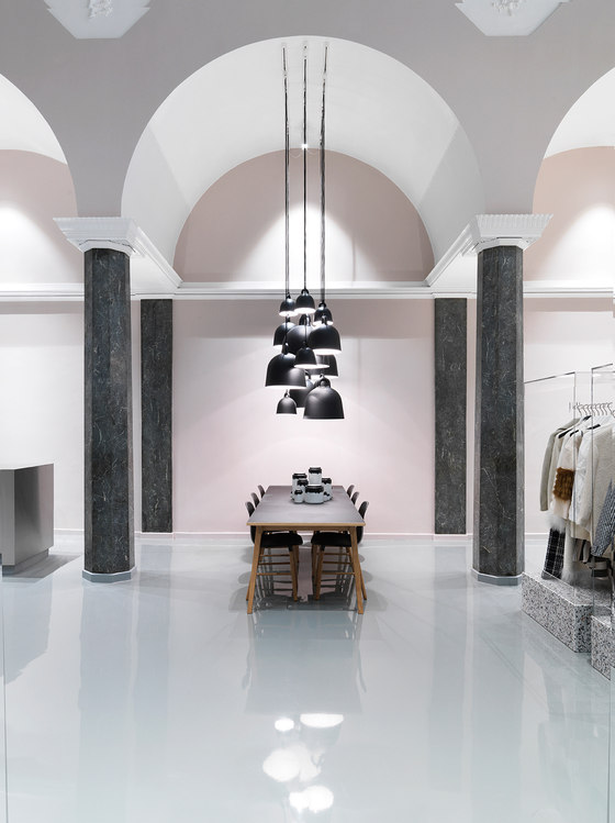 Normann copenhagen showroom by normann copenhagen shop for Normann copenhagen italia