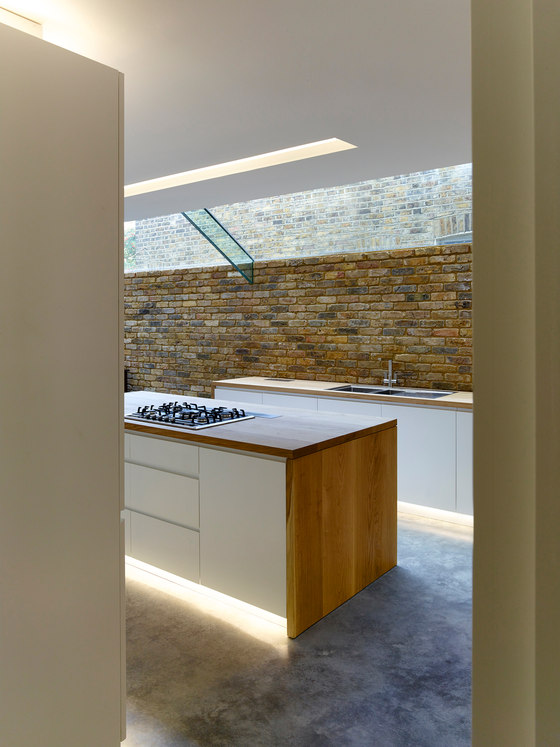Modern Side Extension by Coffey Architects   Living space