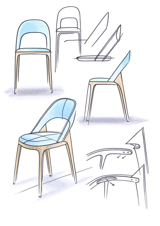 Clamp Chair von Andreas Kowalewski | Prototypen