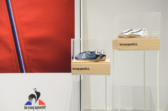 Le Coq Sportif  by Miriam Barrio | Office facilities