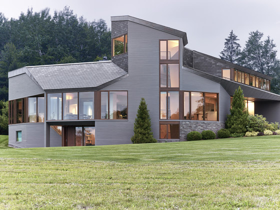 Berkshire mountain house by tsao mckown architects detached houses - Mountain house projects ...