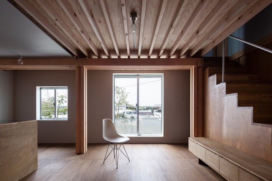 4 Columns By Ft Architects Living Space