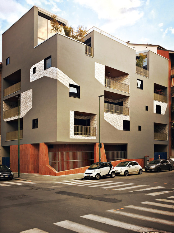 Urban Decor by Marcante-Testa | Apartment blocks