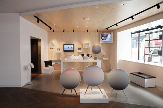 B&O PLAY Shop-In-Shop Concept de Johannes Torpe Studios | Shop interiors