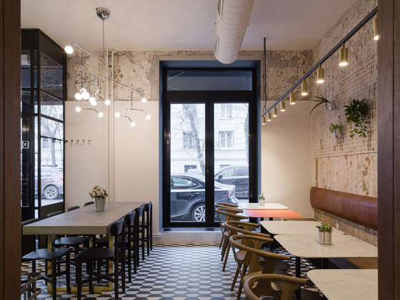 Nude Coffee Amp Wine Bar By Architectural Bureau Form
