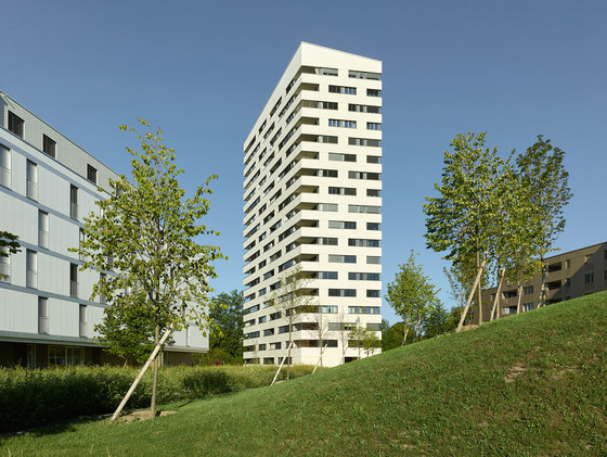 Balcons du Mont by CCHE Lausanne SA | Apartment blocks