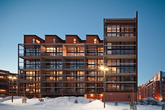 Tila housing by Talli Architecture and Design | Apartment blocks
