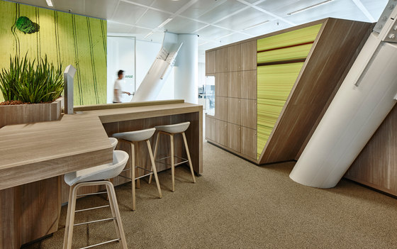 HERE Global HQ Office By M+R Interior Architecture | Office Facilities