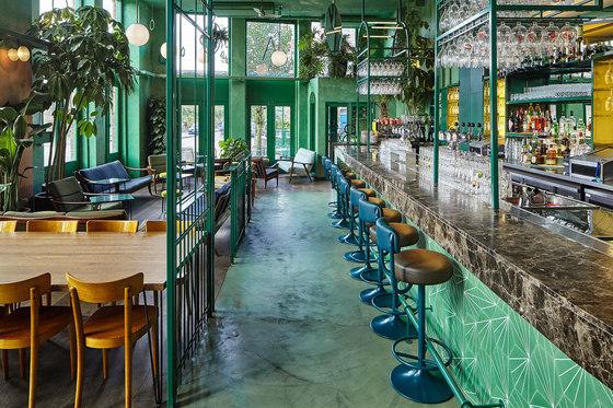 Bar Botanique Cafe Tropique by Studio Modijefsky | Café interiors