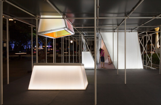 Urban Prisms by Lukstudio | Installations