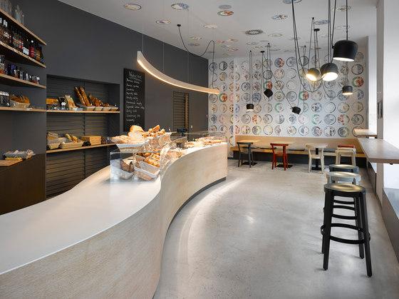 Cafe. Bistro. Bakery Zahorsky by JRA Jarousek.Rochova.Architekti | Café interiors