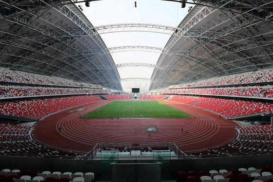 Singapore National Stadium by Arup Associates | Sports arenas