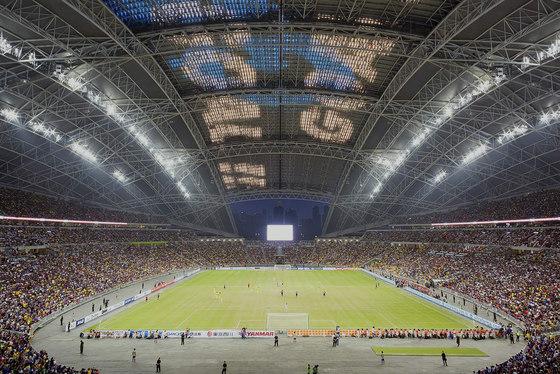 Singapore National Stadium by Arup Associates   Sports arenas
