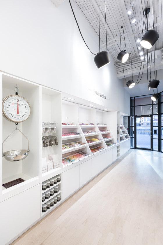 Karameller swedish candy shop by leckie studio for Swedish design shop