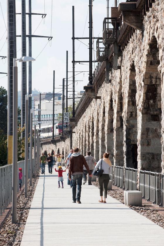 Josefswiese & Lettenviadukt by Studio Vulkan Landschaftsarchitektur | Parks