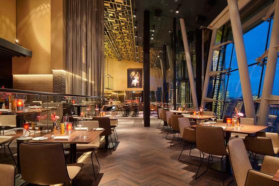Restaurant Heritage | Le Meridien Hamburg von FREIFRAU MANUFAKTUR | Herstellerreferenzen