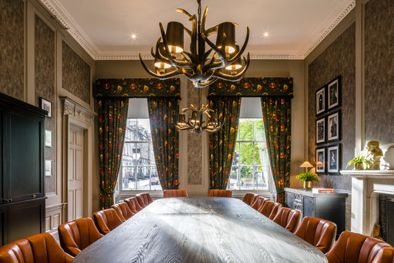 The principal edinburgh charlotte square by goddard for Best private dining rooms edinburgh