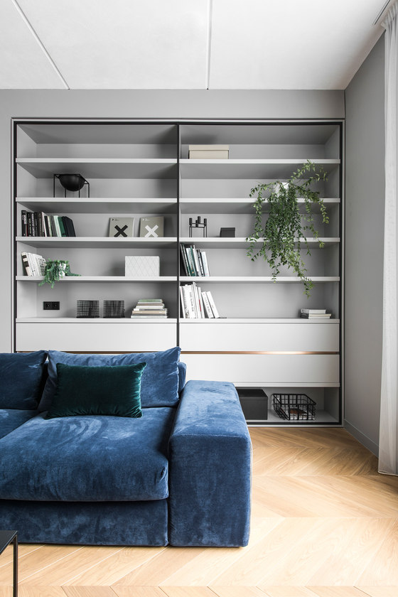 Apartment interior in Basanavičius street by AKTA   Living space