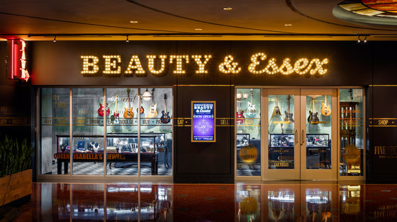 Beauty & Essex Las Vegas by MP Lighting reference projects | Manufacturer references