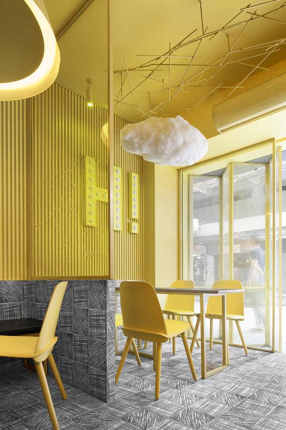 Hi-Pop Tea Concept Store by Construction Union | Café interiors