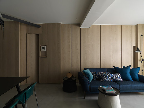 V Apartment by Ganna Design | Living space