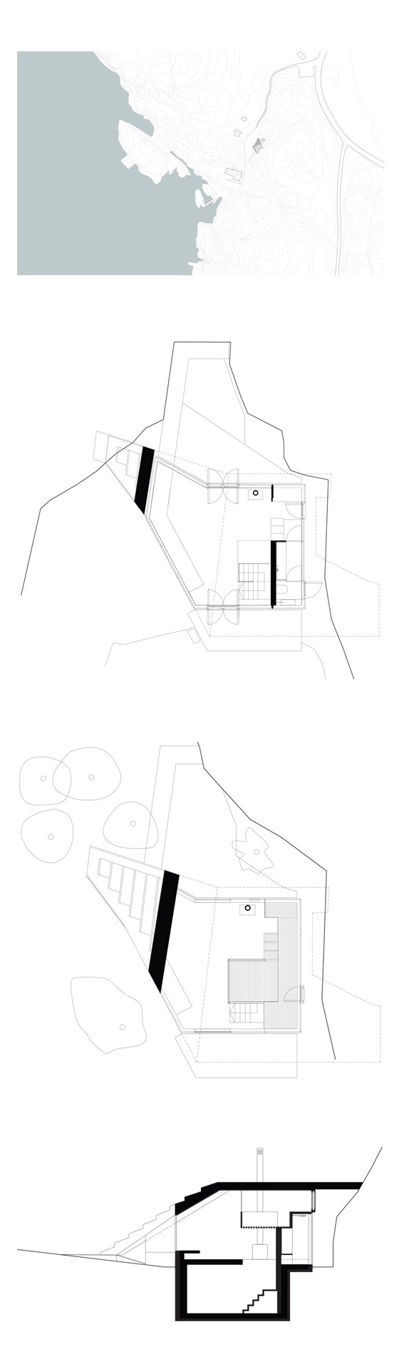 Knapphullet by Lund Hagem Architects | Detached houses