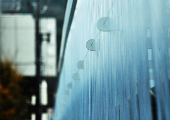 Indigo Waterfall by spatial practice | Installations