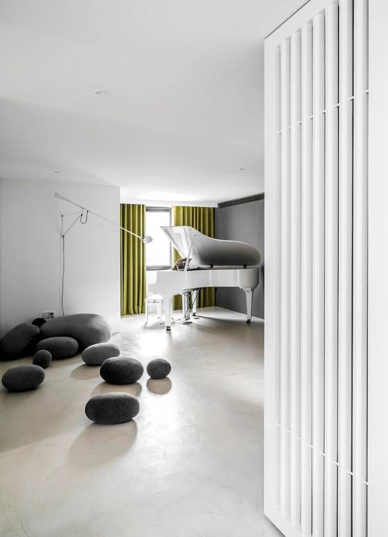 Purified Residence By Wei Yi International Design Associates | Living Space