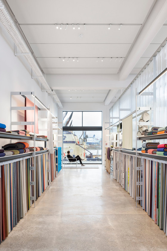 Kvadrat Showroom Copenhagen by Ronan & Erwan Bouroullec | Shop interiors
