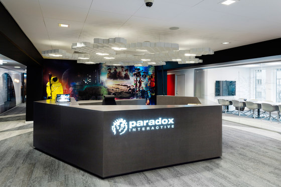 Paradox Interactive by Adolfsson & Partners | Office facilities