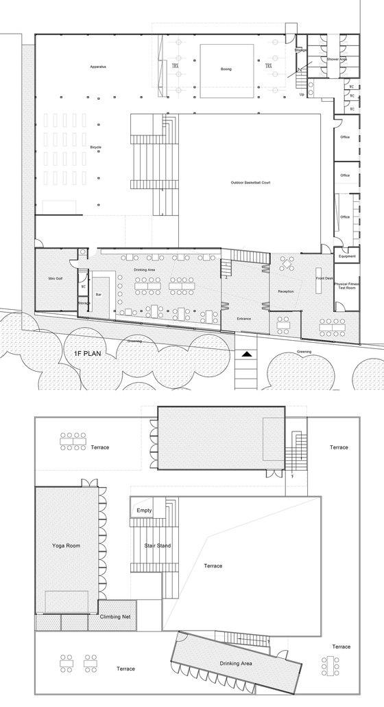 Black Box Gym by HAD & Epos | Sports facilities