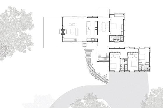 Michigan Lake House by Desai Chia   Detached houses