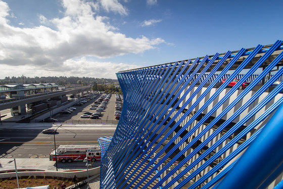 Angle Lake Transit Station and Plaza by Brooks + Scarpa   Industrial buildings