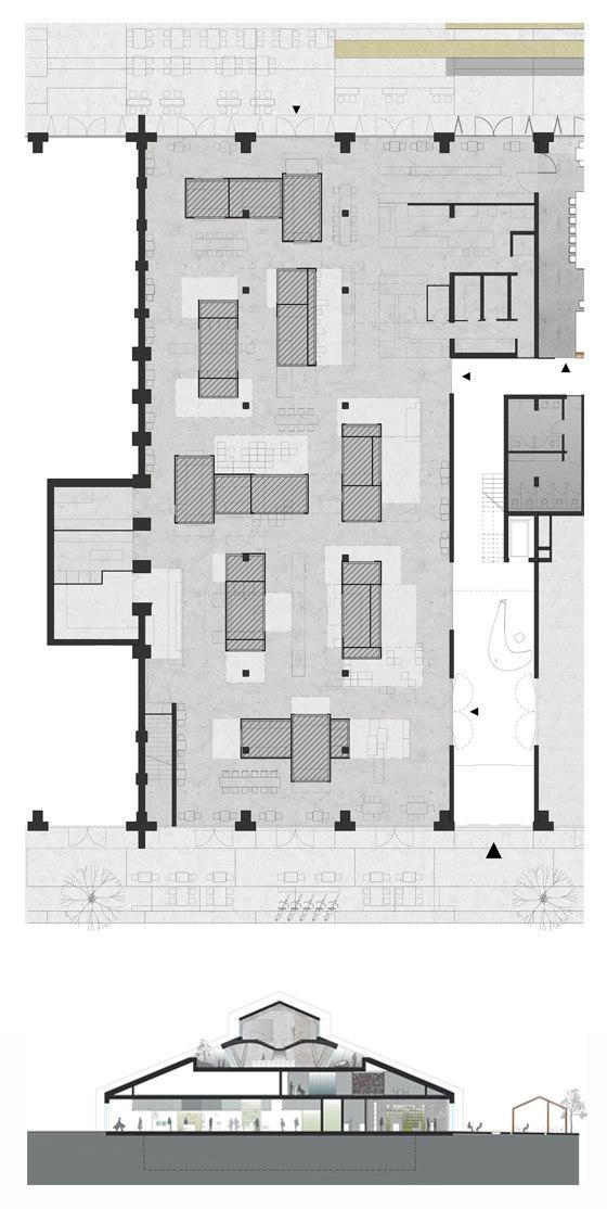 Markthalle by Smartvoll | Shop interiors