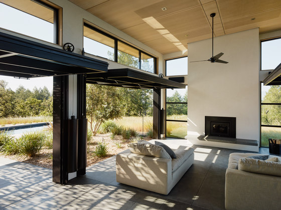 Healdsburg I by Feldman Architecture | Detached houses