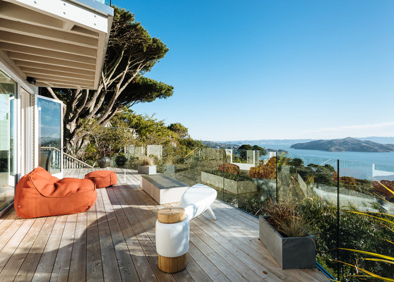 Sausalito Outlook by Feldman Architecture | Living space