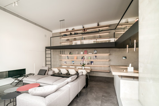 Sursock Apartment by platau | Living space
