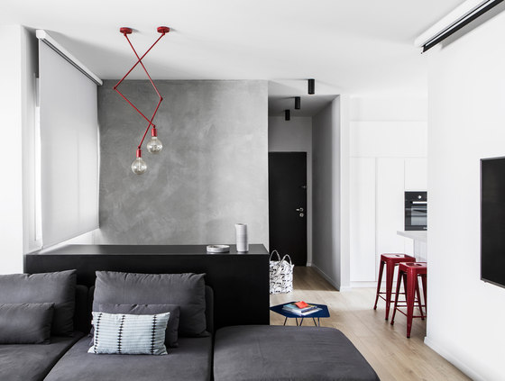 A|A Duplex by Yael Perry | Living space