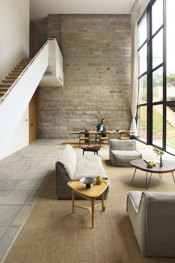 Returning Hut by FM.X Interior Design | Living space