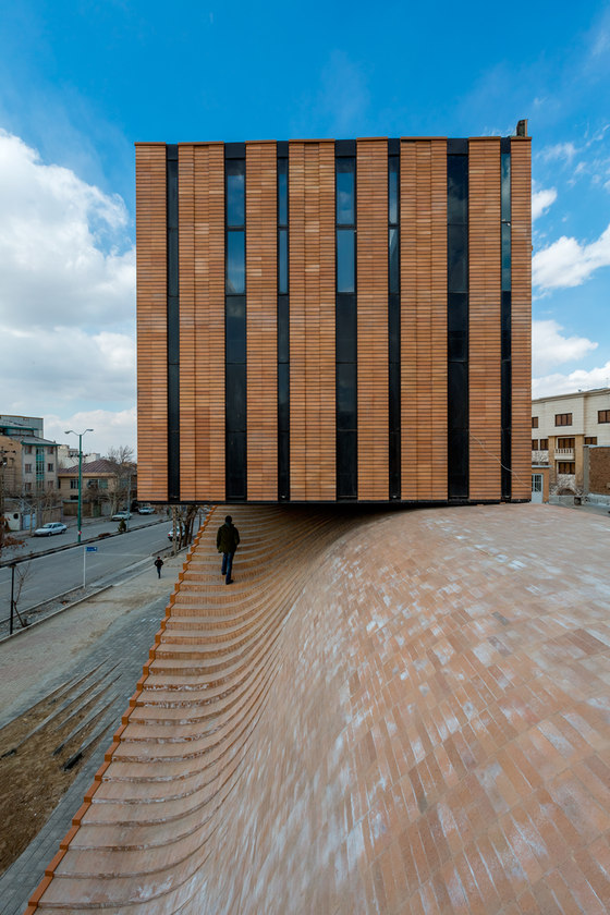 Termeh Office by Ahmad Bathaei & Farshad Mehdizade Architects | Office buildings