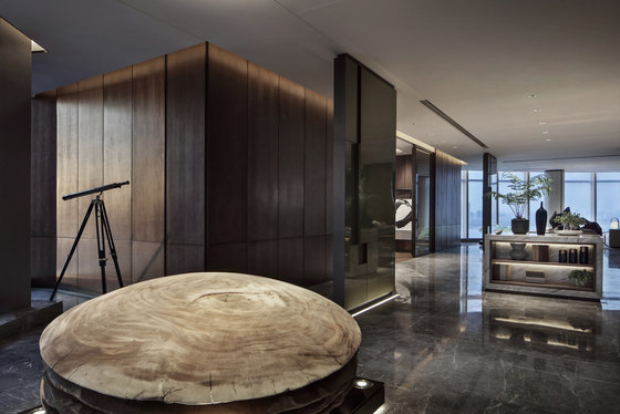 Super Villa—President Mansion In The Air by CCD/Cheng Chung Design | Living space